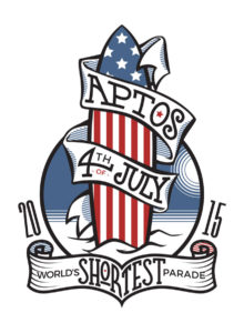 Aptos 4th of July - World's Shortest Parade, 2015