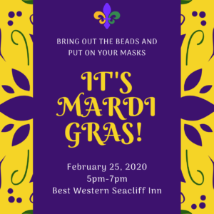 """Mardi Gras"" Party and Fundraiser"